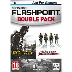 JEU PC OPERATION FLASHPOINT - DOUBLE PACK - JUST FOR G…
