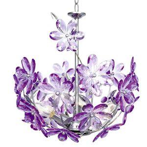 luminaire fleurs achat vente luminaire fleurs pas cher cdiscount. Black Bedroom Furniture Sets. Home Design Ideas