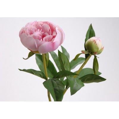 Fleur pivoine rose artificielle achat vente fleur for Jolies fleurs artificielles