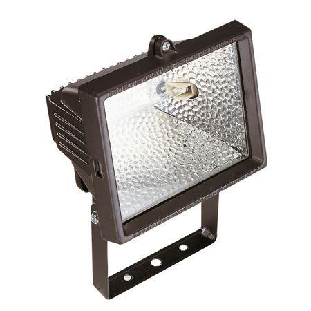 Projecteur halog ne 500 watts noir achat vente for Spot exterieur maison