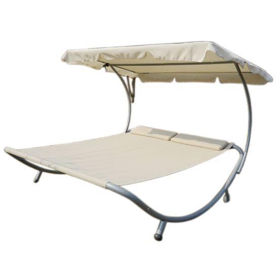 Bain de soleil chaise longue lit fauteuil de ja achat for Chaise longue pour 2 personnes