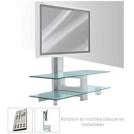 Meuble pour cran plat kubik twist lift achat vente meuble tv meubl - Meuble pour ecran plat ...