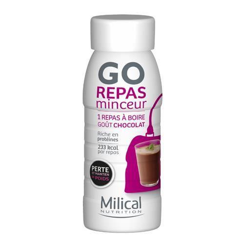 MILICAL - GO Repas Bouteille Chocolat MILICAL - Achat