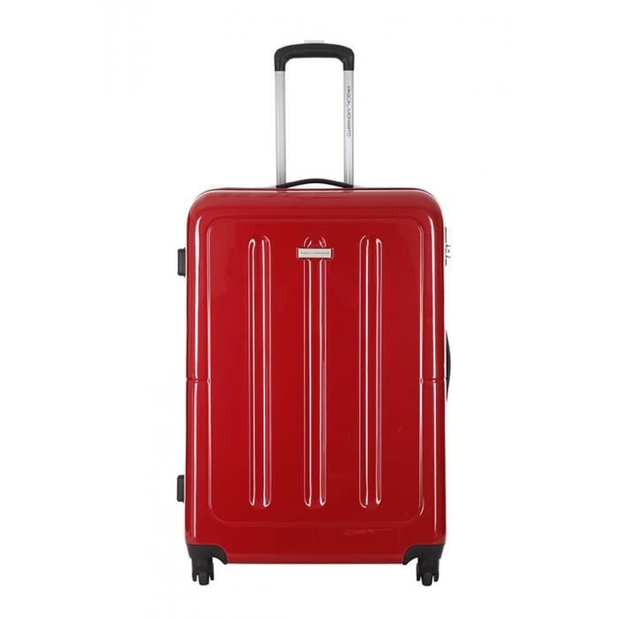 pascal morabito valise anite rouge taille l achat vente valise bagage 3607070648636. Black Bedroom Furniture Sets. Home Design Ideas