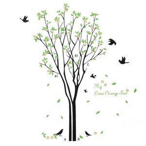 Stickers arbre achat vente stickers arbre pas cher for Autocollant mural arbre