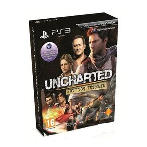 JEU PS3 TRILOGY UNCHARTED : UNCHARTED 1 & 2 & 3 / PS3