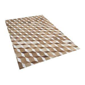 tapis peau de vache marron achat vente tapis peau de vache marron pas cher cdiscount. Black Bedroom Furniture Sets. Home Design Ideas