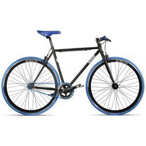 Vélo Fixie Montana Pista (52 - Rouge / Noir)