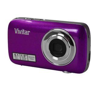 PACK APPAREIL COMPACT Appareil Photo Numérique VIVITAR V52 violet