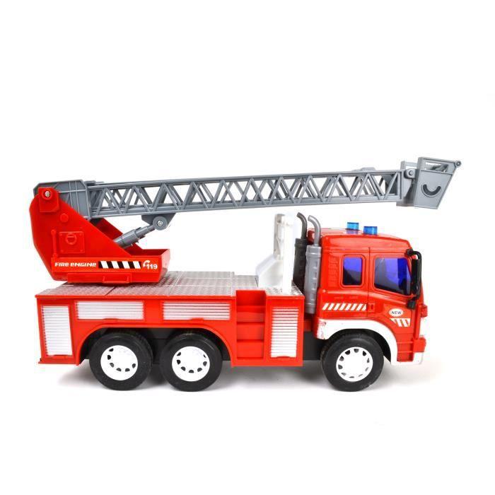camion pompier fr 1 16e achat vente voiture camion. Black Bedroom Furniture Sets. Home Design Ideas