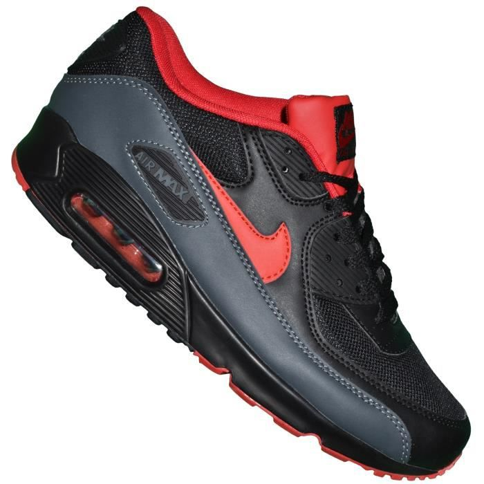 timberland lausanne - Air Max Chase Noir Et Rouge