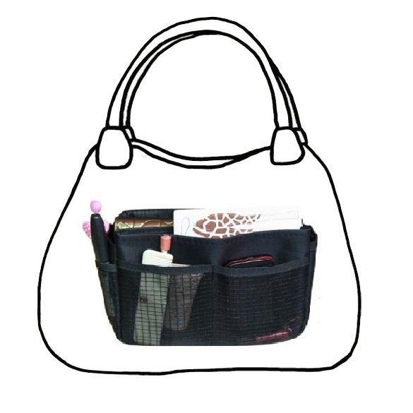 organisateur de sac s noir pour changer de sac achat vente organisateur de sac s noir. Black Bedroom Furniture Sets. Home Design Ideas
