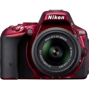 PACK APPAREIL RÉFLEX NIKON D5500 Appareil photo numérique Reflex + Obje