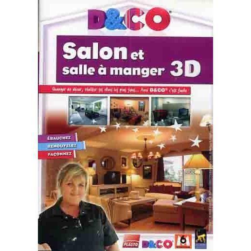 D co salon et salle a manger 3d pc dvd rom prix pas for Salon et salle a manger