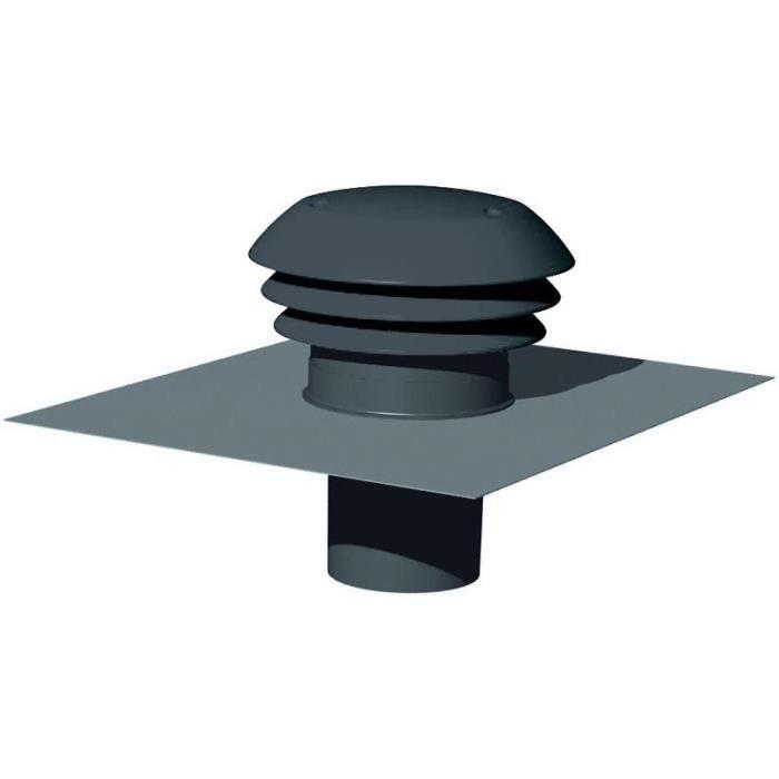 sortie de toiture 160 vmc atlantic gris ardoise achat vente vmc accessoires vmc sortie de. Black Bedroom Furniture Sets. Home Design Ideas