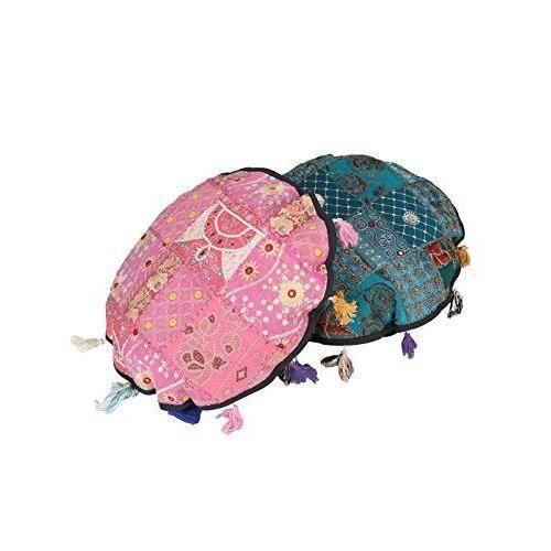 Designer housse de coussin en coton patchwork 19 par 19 - Housse de coussin patchwork ...