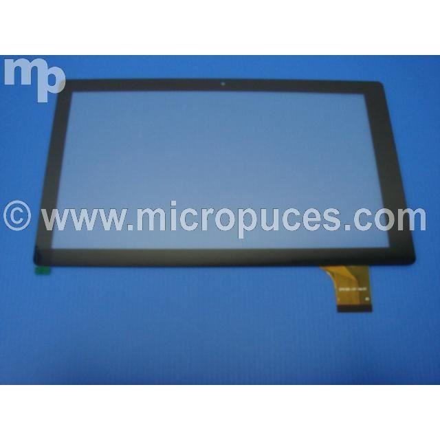 vitre tactile noire pour polaroid midc147p achat vente. Black Bedroom Furniture Sets. Home Design Ideas