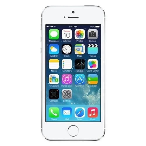 apple iphone 5s 32gb blanc achat smartphone pas cher avis et meilleur prix cdiscount. Black Bedroom Furniture Sets. Home Design Ideas