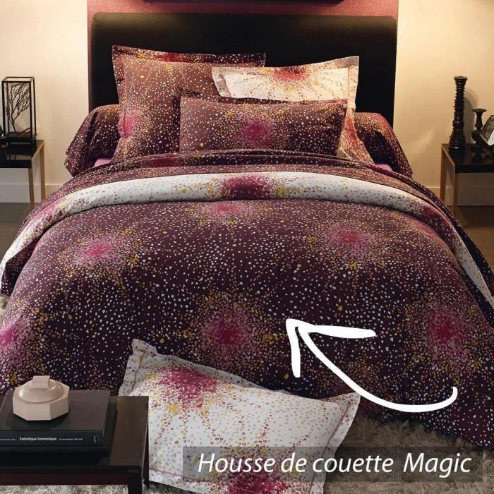 Housse de couette 240x220 cm 100 coton magic achat - Housse de couette 240x240 ...