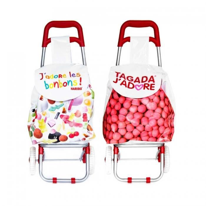 chariot de courses pour enfant haribo tagada achat vente chariot de march 3700861619638. Black Bedroom Furniture Sets. Home Design Ideas