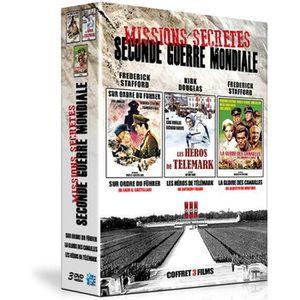 DVD FILM COFFRET 3 DVD MISSIONS SECRÈTES DE LA SECONDE GUER