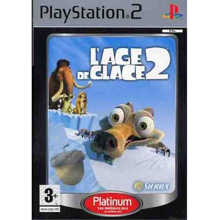 JEU PS2 L'AGE DE GLACE 2 / JEU CONSOLE PS2 PLATINUM