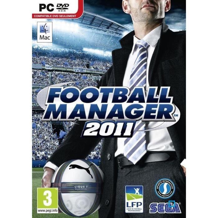 JEU PC FOOTBALL MANAGER 2011 / Jeu PC.