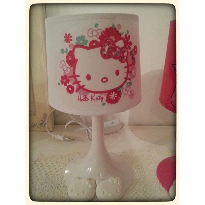 lampe hello kitty achat vente lampe hello kitty cdiscount. Black Bedroom Furniture Sets. Home Design Ideas