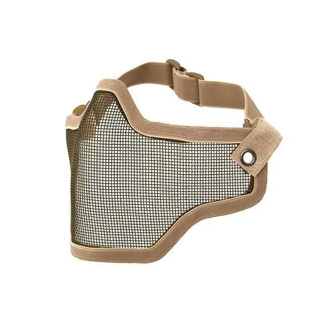 masque de protection demi grillage acier tan coyote petit modele prix pas cher cdiscount. Black Bedroom Furniture Sets. Home Design Ideas