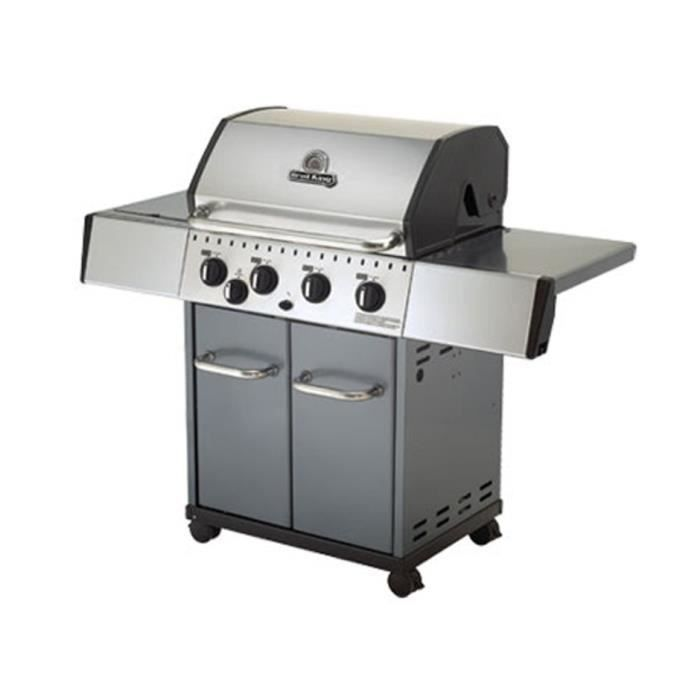 barbecue gaz broil king crown 440 achat vente barbecue. Black Bedroom Furniture Sets. Home Design Ideas