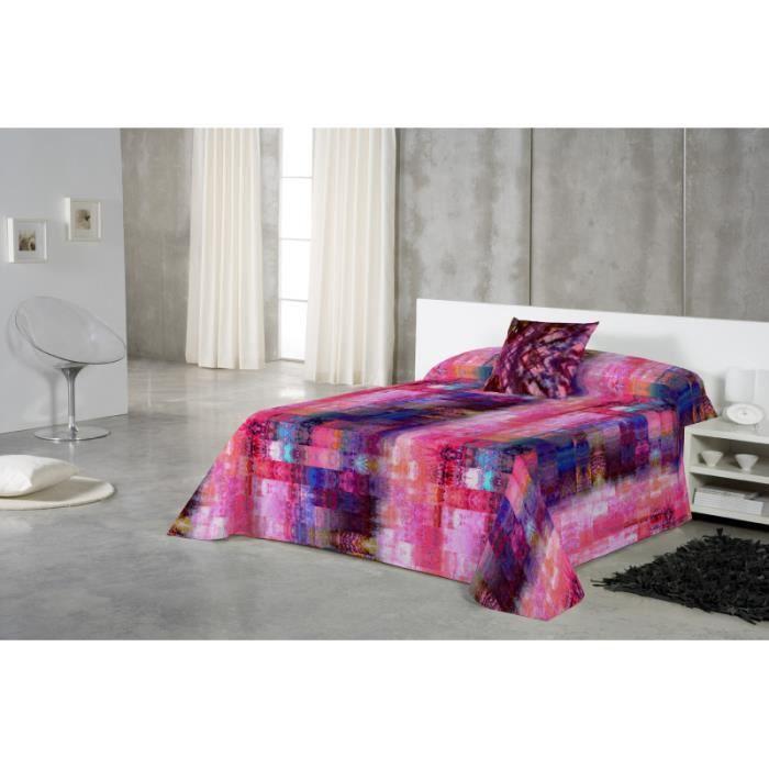 euromoda jet de canap couvre lit noila 280x260 achat vente jet e de lit boutis. Black Bedroom Furniture Sets. Home Design Ideas
