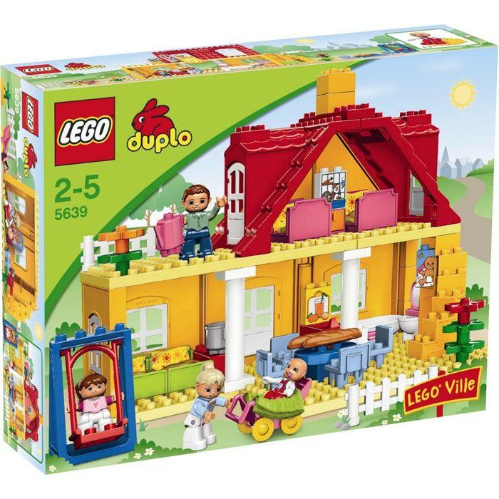 Duplo la maison achat vente assemblage construction cdiscount - La maison de jeanne eurodif ...
