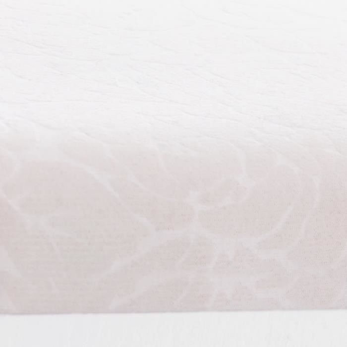 songmics coiffeuse murale blanche avec 1 miroir 2 tiroirs rdt16w achat vente coiffeuse. Black Bedroom Furniture Sets. Home Design Ideas