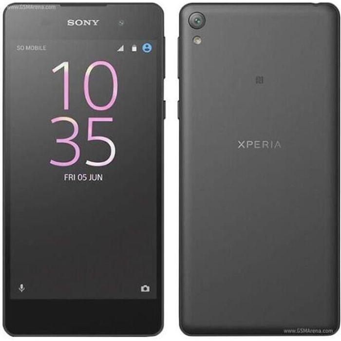 sony xperia e5 f3311 noir smartphone d bloqu achat smartphone pas cher avis et meilleur prix. Black Bedroom Furniture Sets. Home Design Ideas