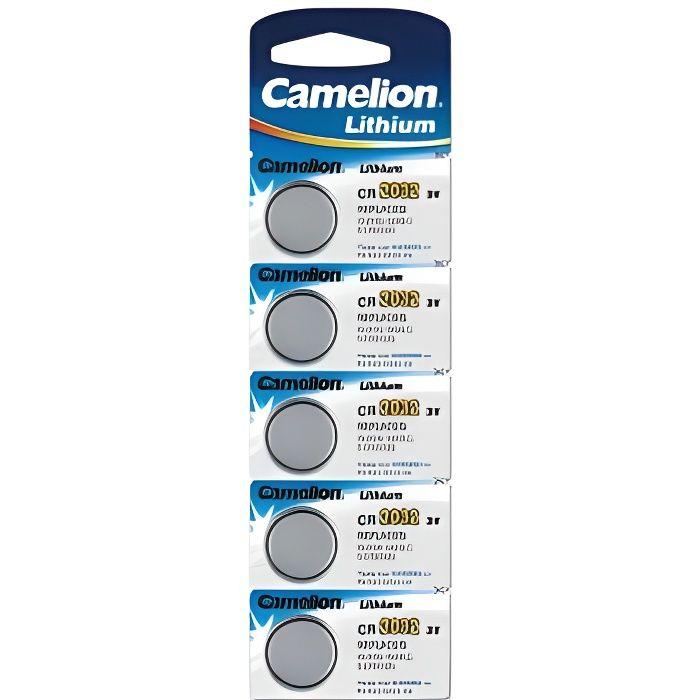 pack de 5 piles camelion lithium 3v cr2032 achat vente piles cdiscount. Black Bedroom Furniture Sets. Home Design Ideas