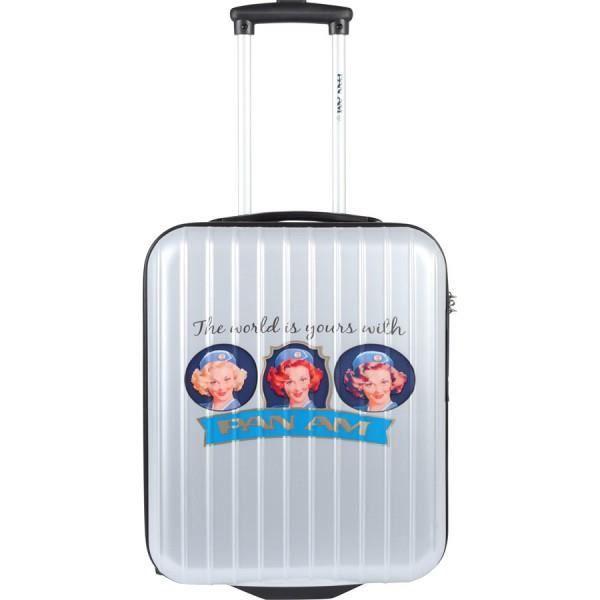 bagage pan am valise cabine easyjet argent achat vente valise bagage bagage pan am. Black Bedroom Furniture Sets. Home Design Ideas