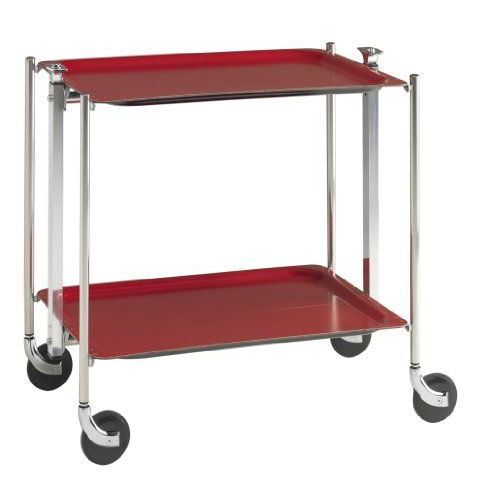Platex la table roulante pliante 2 etages achat - Table pliante a roulettes ...