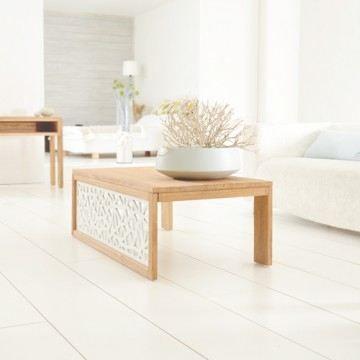 table basse rectangulaire de salon teck brut 12 achat. Black Bedroom Furniture Sets. Home Design Ideas