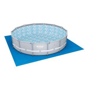BESTWAY Kit Piscine tubulaire ronde Power Steel Frame Pool 427x107 avec filtre ? cartouche