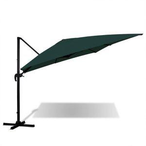 parasol 3x4 achat vente parasol 3x4 pas cher cdiscount. Black Bedroom Furniture Sets. Home Design Ideas