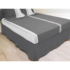 cache sommier 120x190 achat vente cache sommier 120x190 pas cher soldes d hiver d s le. Black Bedroom Furniture Sets. Home Design Ideas