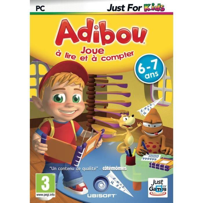 adibou joue lire et compter jeu pc achat vente jeu pc adibou joue lire compter pc. Black Bedroom Furniture Sets. Home Design Ideas