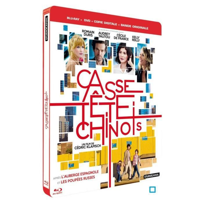 DVD FILM Blu-Ray Casse-tete chinois (Le) [Éd. Steelbook