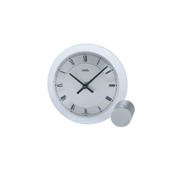 horloge moderne avec mouvement quartz de ams am t166. Black Bedroom Furniture Sets. Home Design Ideas