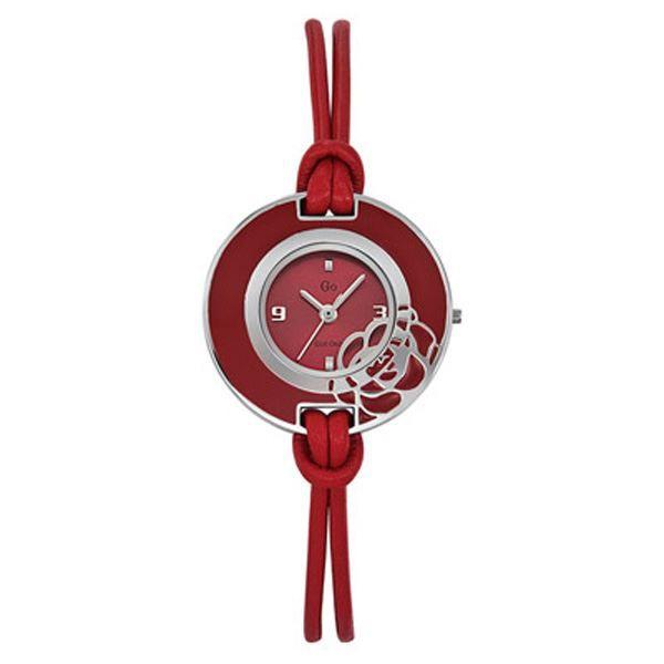 montre femme quartz rouge 697864 rouge achat vente montre cdiscount. Black Bedroom Furniture Sets. Home Design Ideas