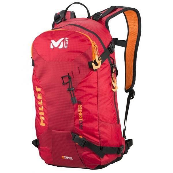 sac dos millet prolighter 22 rouge prix pas cher cdiscount. Black Bedroom Furniture Sets. Home Design Ideas