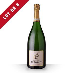 ASSORTIMENT CHAMPAGNE 6X Bernard Bremont Brut 150cl - Vins Effervescents