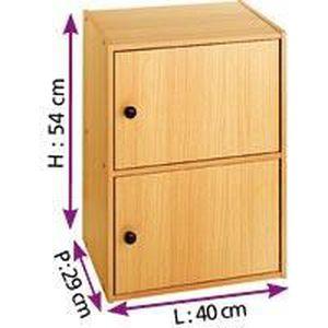 Bloc de rangement 1 porte achat vente petit meuble for Petit meuble une porte