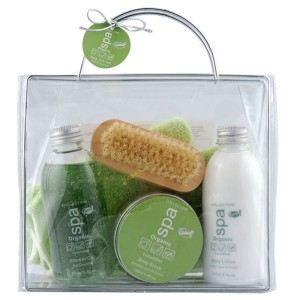 COFFRET CADEAU CORPS Vanity de Bain - Spa Organic - Concombre