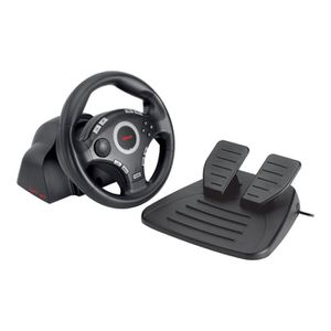 VOLANT CONSOLE Trust Compact Vibration Feedback Steering Wheel P…